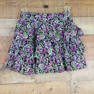 1989 Place Skirt Girls Size 10/12 Multicolor TQ4
